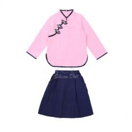 Японская блуза и юбка